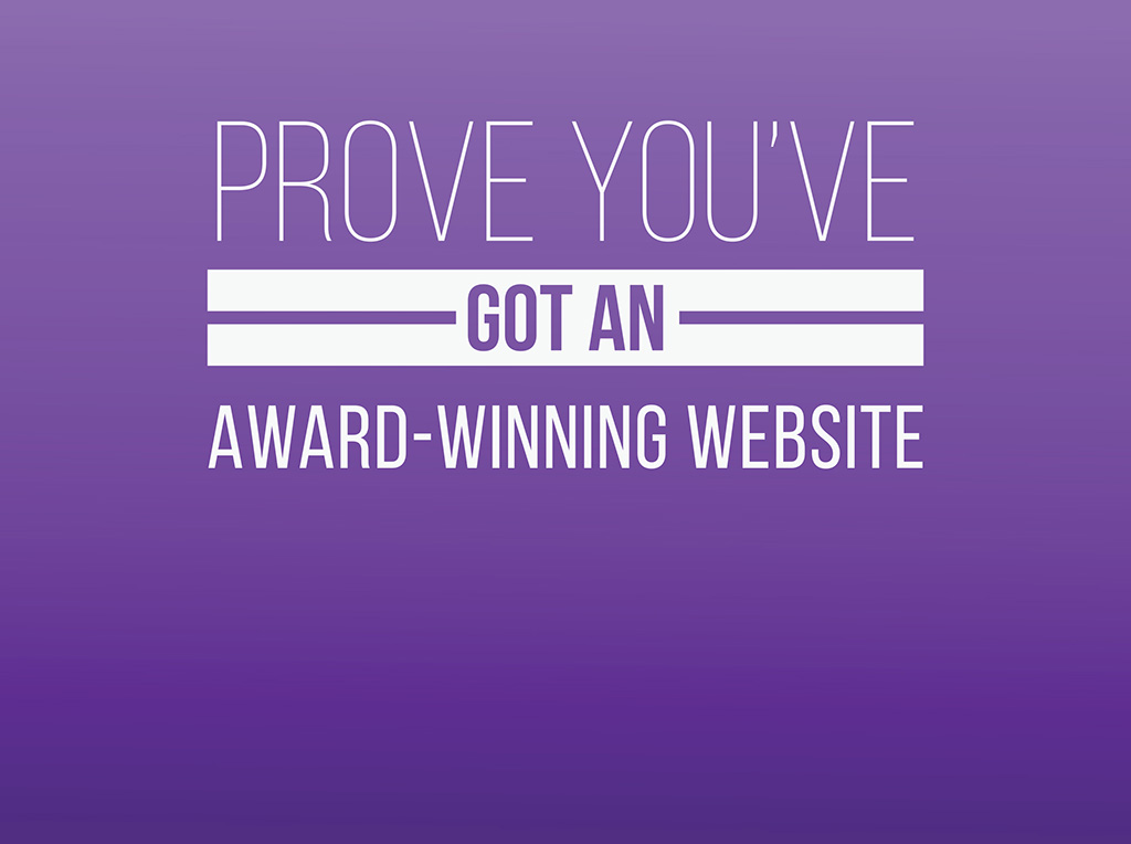 Enter the WebAwards